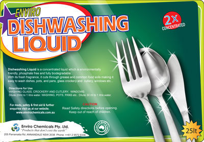 dishwashing solution