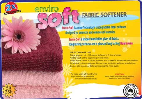 Enviro Soft Fabric Softener Enviro Chemicals