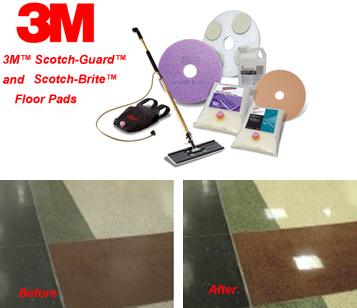 3M DIAMOND FLOOR PAD SYSTEM