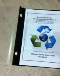 MSDS Books & Colour Coded Wall Charts