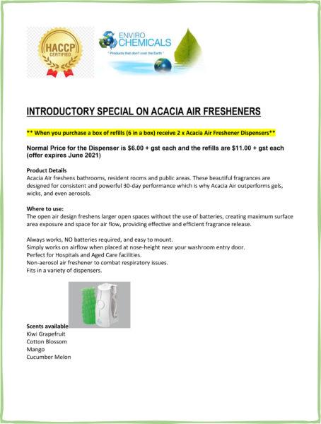Acacia Odour Dispenser