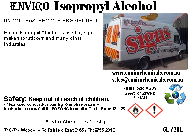 Enviro Isopropyl Alcohol (IPA)