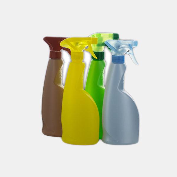 Bottles & Triggers & Labels